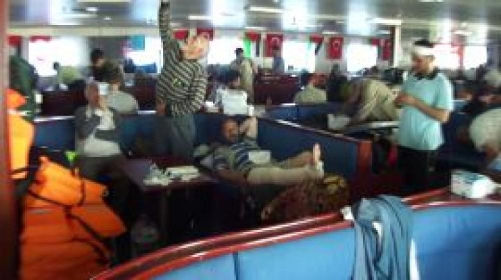 Injured on the Mavi Marmara
