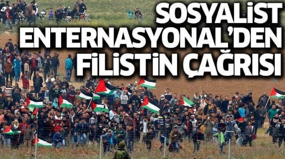 Call to the world from the Socialist International: Recognize Palestine immediately