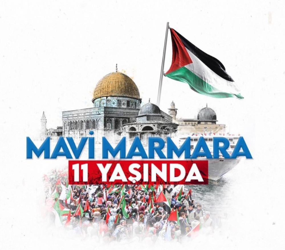 Mavi Marmara's 11th anniversary