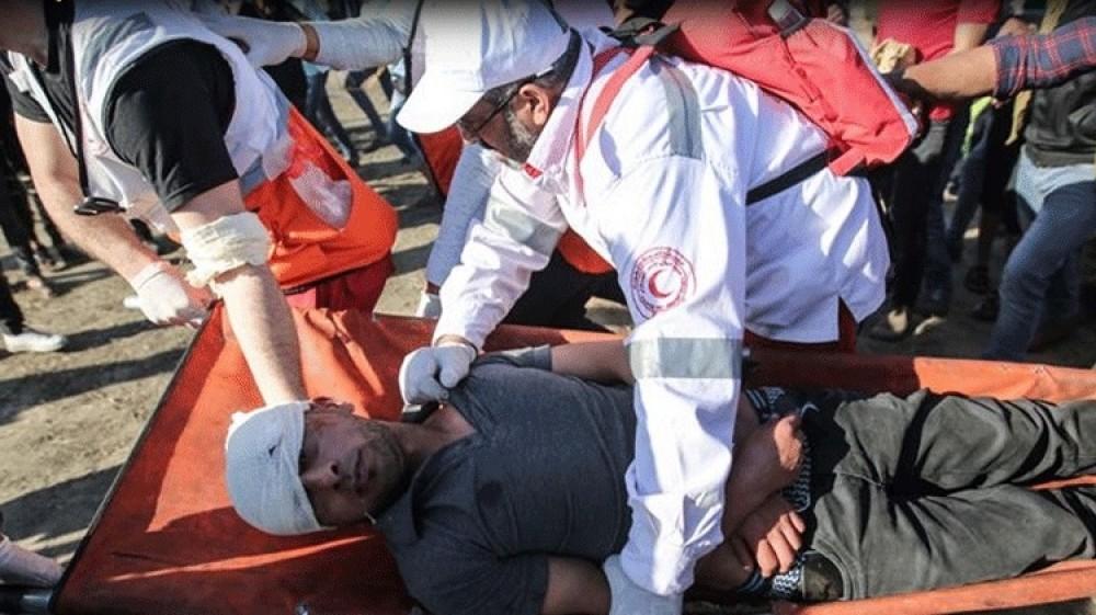 İsrail, Gazze sınırında 50 Filistinliyi yaraladı